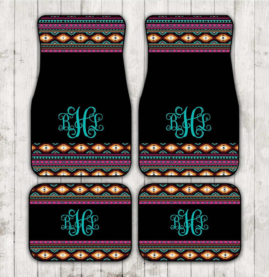 car floor mats for women. Aztec Car Mats Tribal Floor Monogrammed Personalized Custom Cute Accessories For Women A