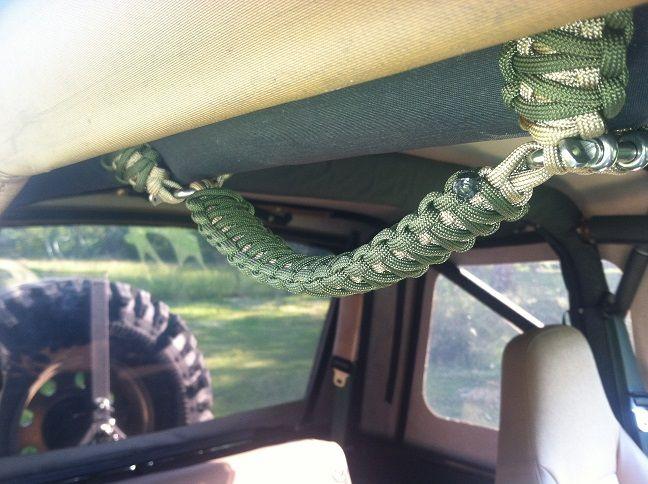 Paracord Jeep Grab Handles Paracord Grab Handles