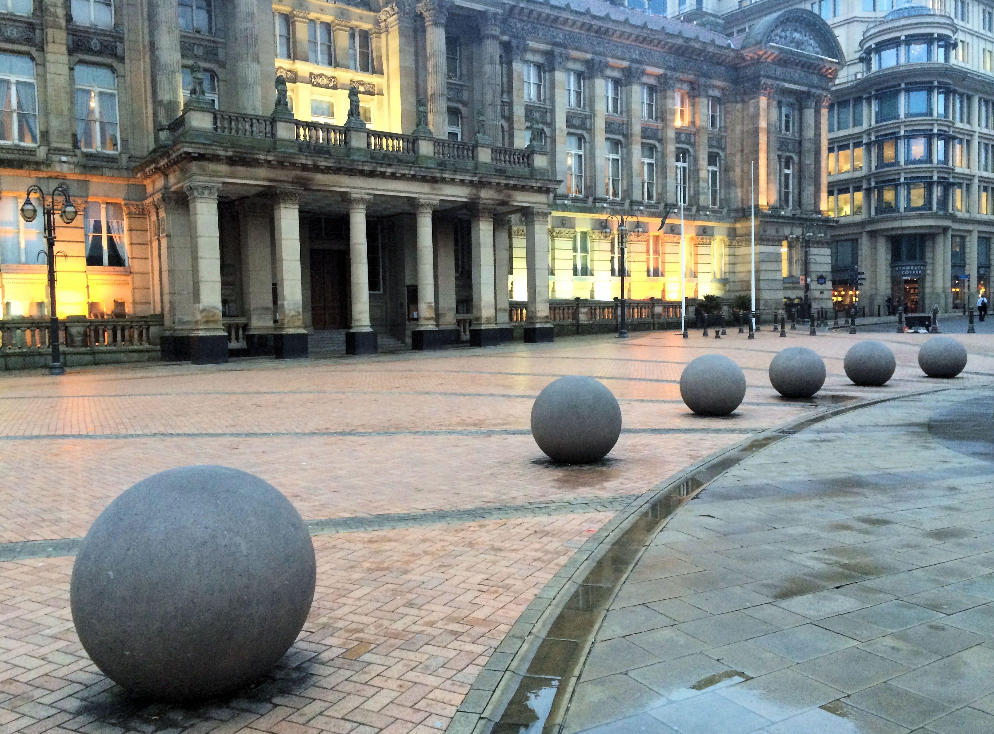 The now ubiquitous city balls...