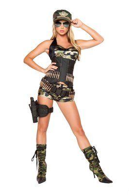 Sexy army halloween costume