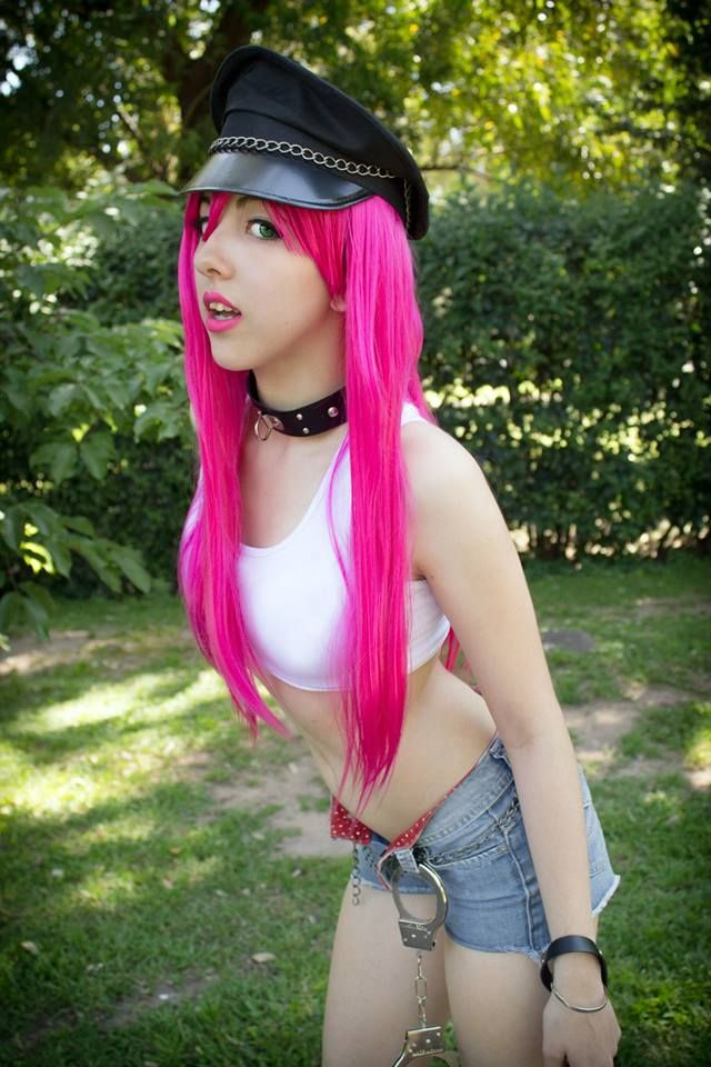 Poison cosplay by Florencia Barrios