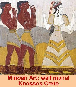 Image result for murals knossos