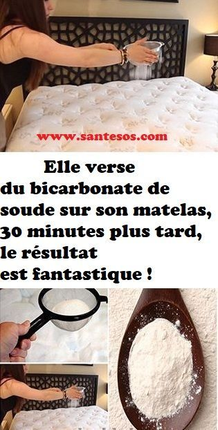 elle verse du bicarbonate de soude sur son matelas 30. Black Bedroom Furniture Sets. Home Design Ideas