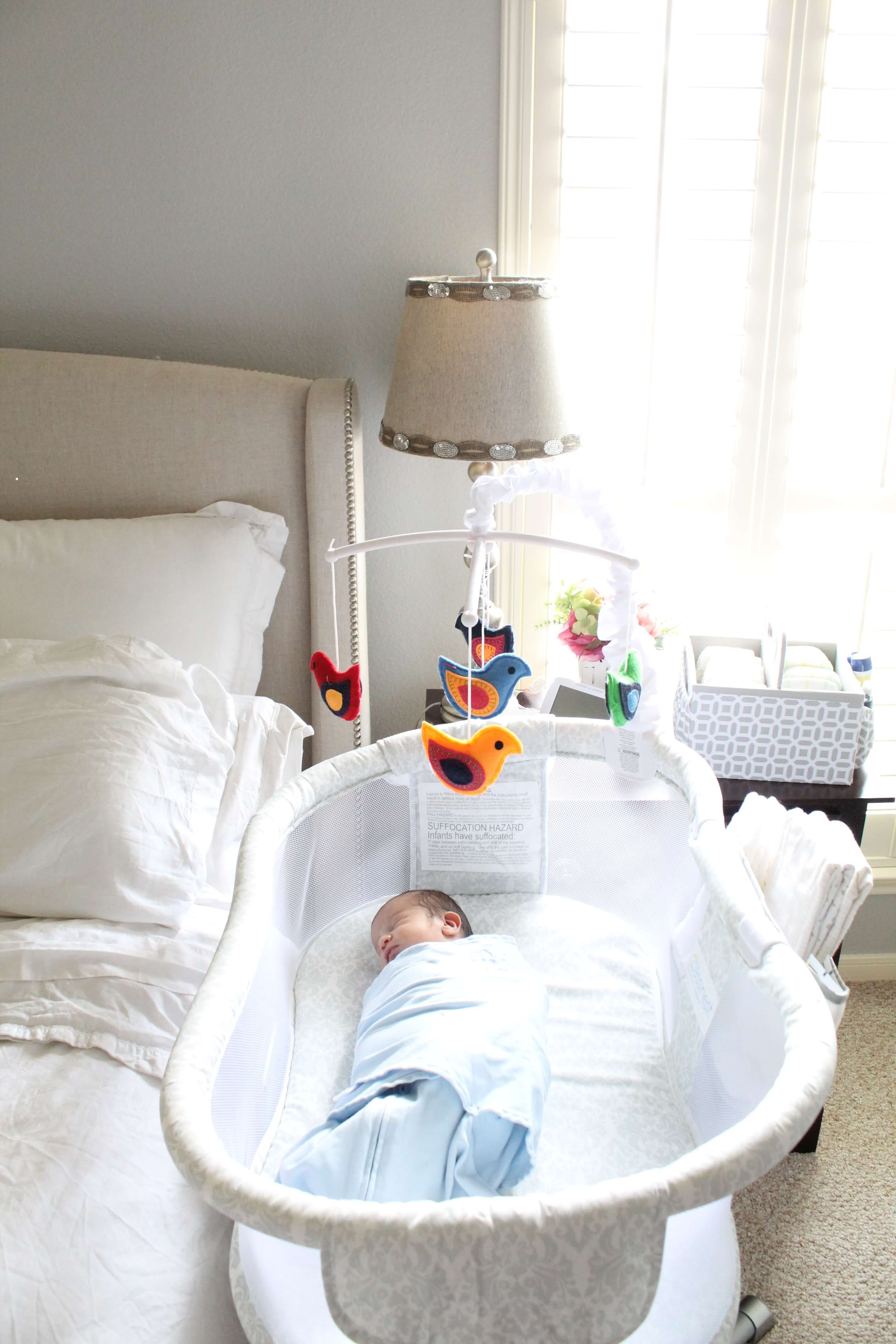 Safe Sleep Tips For Baby From Bassinet To Crib Baby Bassinet