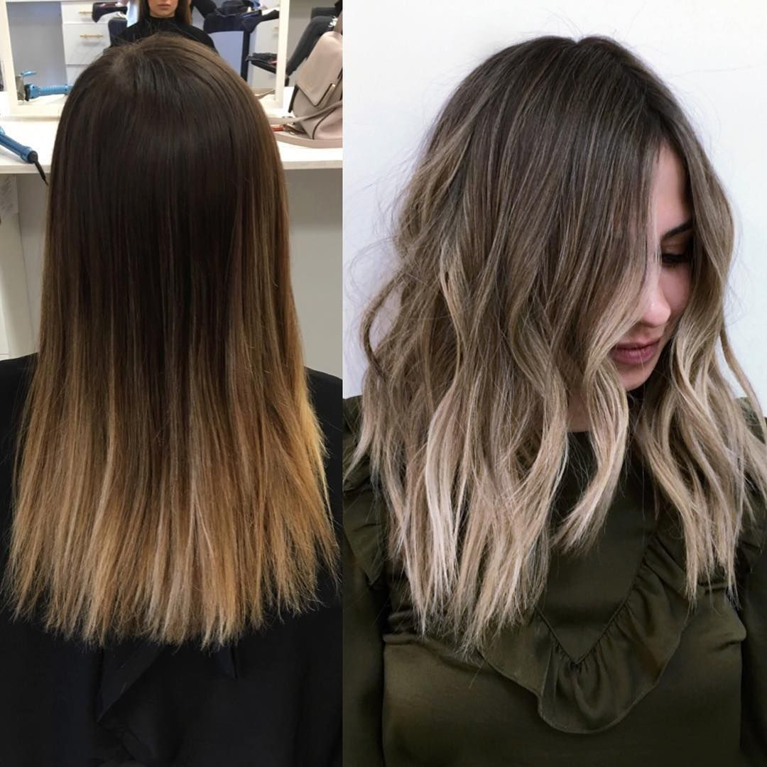 Blended Babylights Hairpainting Sombre Prettyhair Blended Hairinspo Hairbybrittanyy Hair Looks Balayage Hair Beauty Hair Color