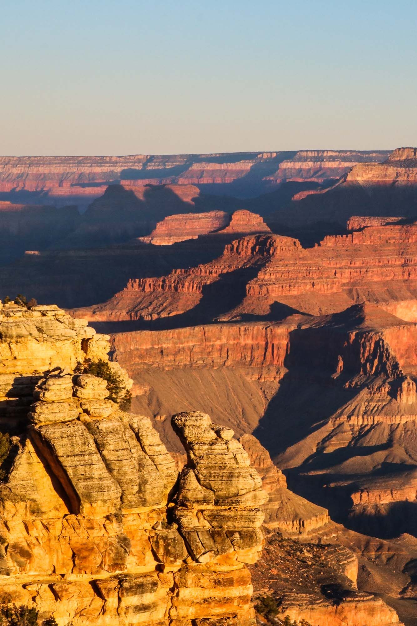 Sunrise at Mather Point Overlook in Grand Canyon National Park, Arizona #grandcanyon