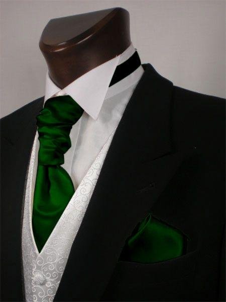 Red Shantung Silk Cravat Mens Wedding Formal Tailor Cravats Looks