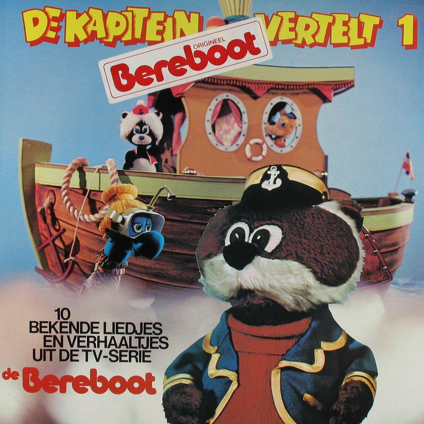 berenboot de kapitein vertelt nostalgie