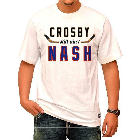 free shipping 01fd2 a271f Rick Nash Rangers Shirt Crosby Still Ain't by ...