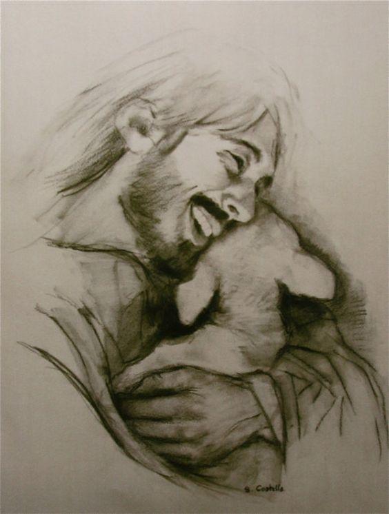 Laughing  Jesus | Jesus laughing, Jesus pictures, Jesus art