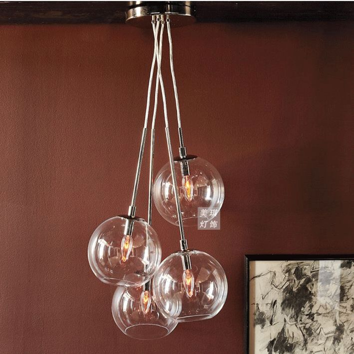 Glass Ball chandeliers | Unlimited Light