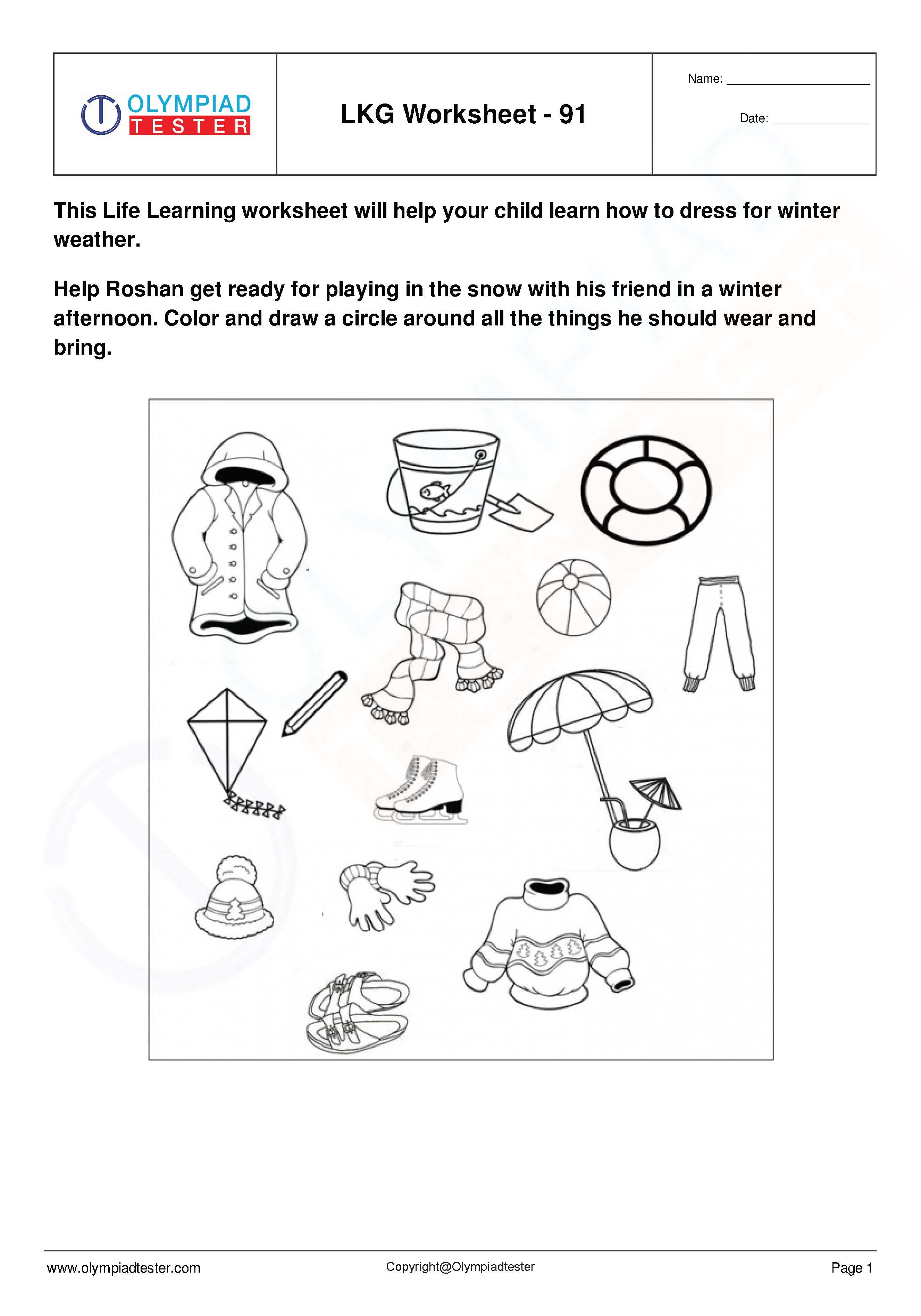 Lkg Worksheets Set 19