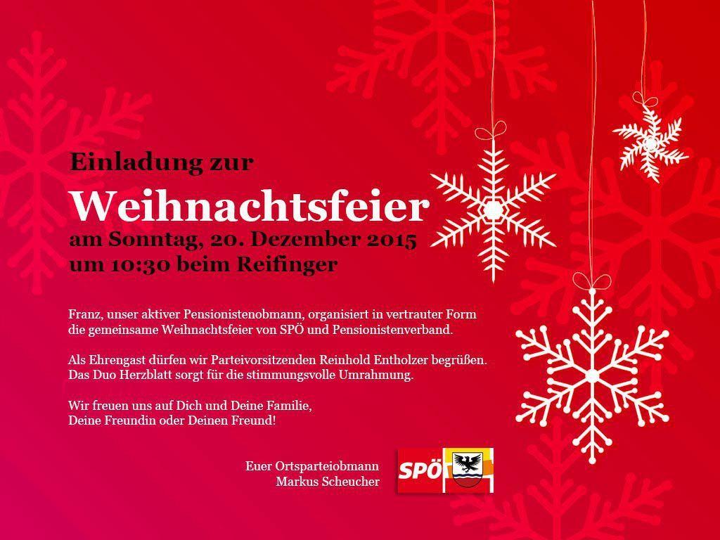 Einladung Zur Weihnachtsfeier.Einladung Weihnachtsfeier Geschaftlich Einladung