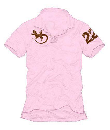 Coole Fun T-Shirts AUSTRALIA OUTBACK pink POLOSHIRT, Grösse: XXL