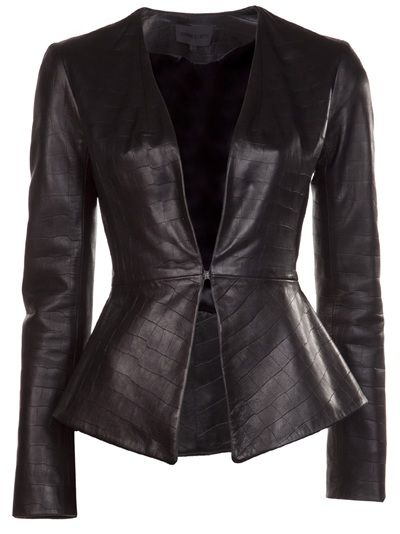 d7842cdc917d CUSHNIE ET OCHS Flared Jacket $2195 | My style in 2019 | Jackets ...