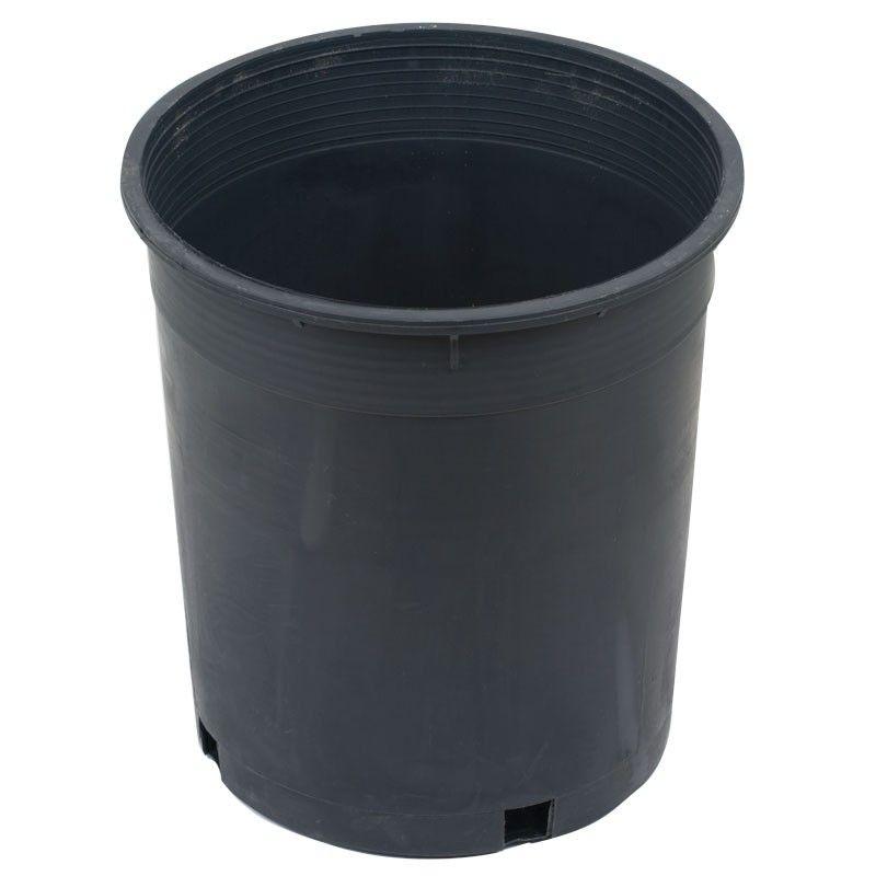 Black Plastic Pot 3 Gallon Size Plastic Pots Compost Biodegradable Products