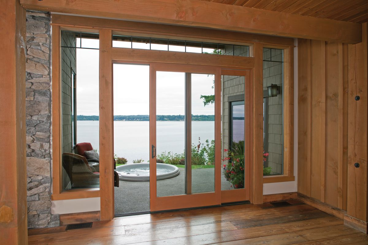Sliding Patio Doors Are A Good Solution In Spaces That Simply Cannot