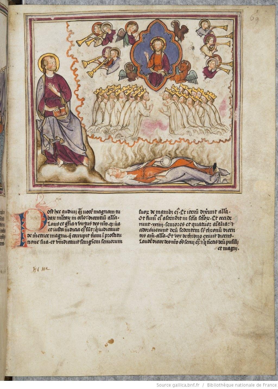 Vue 73 Folio 69 Apocalisse Medioevo