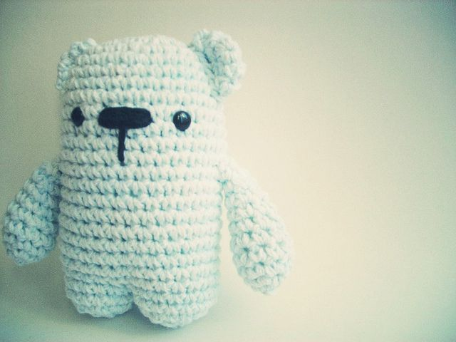 Mini Miguelito by fernanda espoleta, Polar Bear #amigurumi #crochet ...