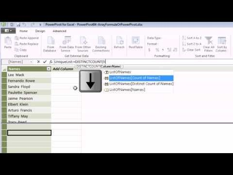 Excel 2013 PowerPivot Basics #04 DAX Formulas Can Be Easier - spreadsheet formulas