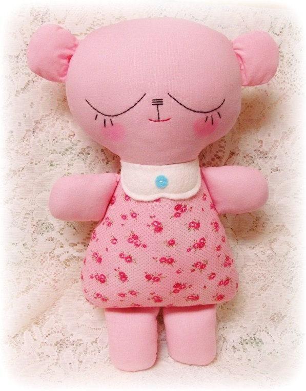 Simple Rag Doll Patterns   Easy Teddy Bear ... by Oh Sew Dollin ...