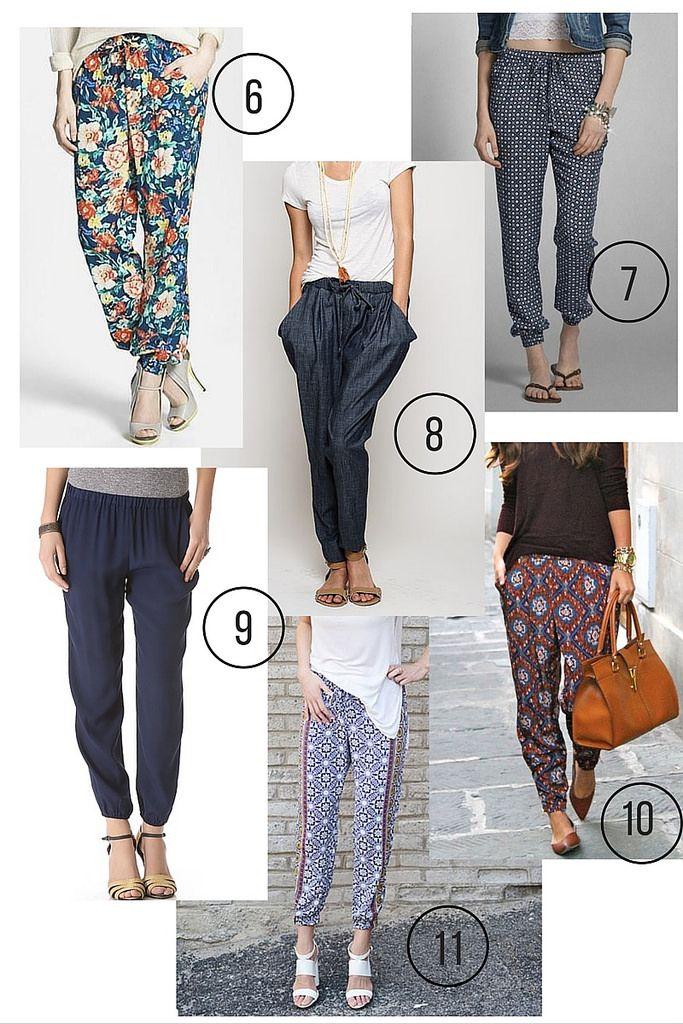 Luna Pants Inspiration | Costura hazlo tu mismo, Patrones de costura ...
