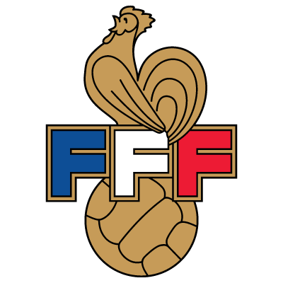 france oldlogo football soccer badge not just 3 lions