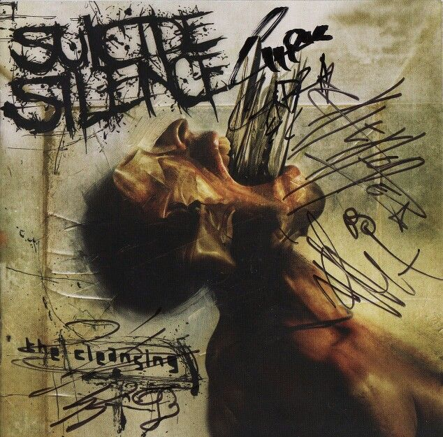 Suicide Silence - The Cleansing (signed)