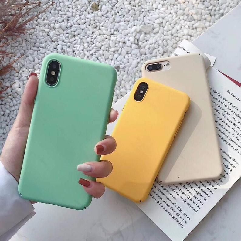 Hard Solid iPhone XS case iPhone XR case iPhone Case
