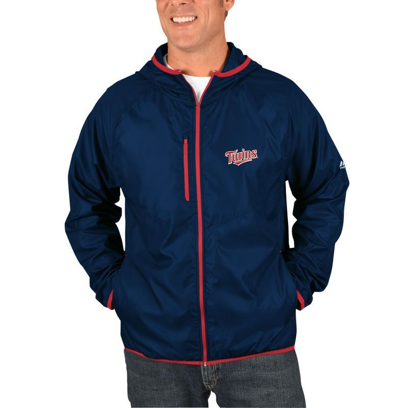 Minnesota Twins Majestic Weakness Is A Choice Full Zip Jacket Navy Hooded Jacket Jackets New York Mets