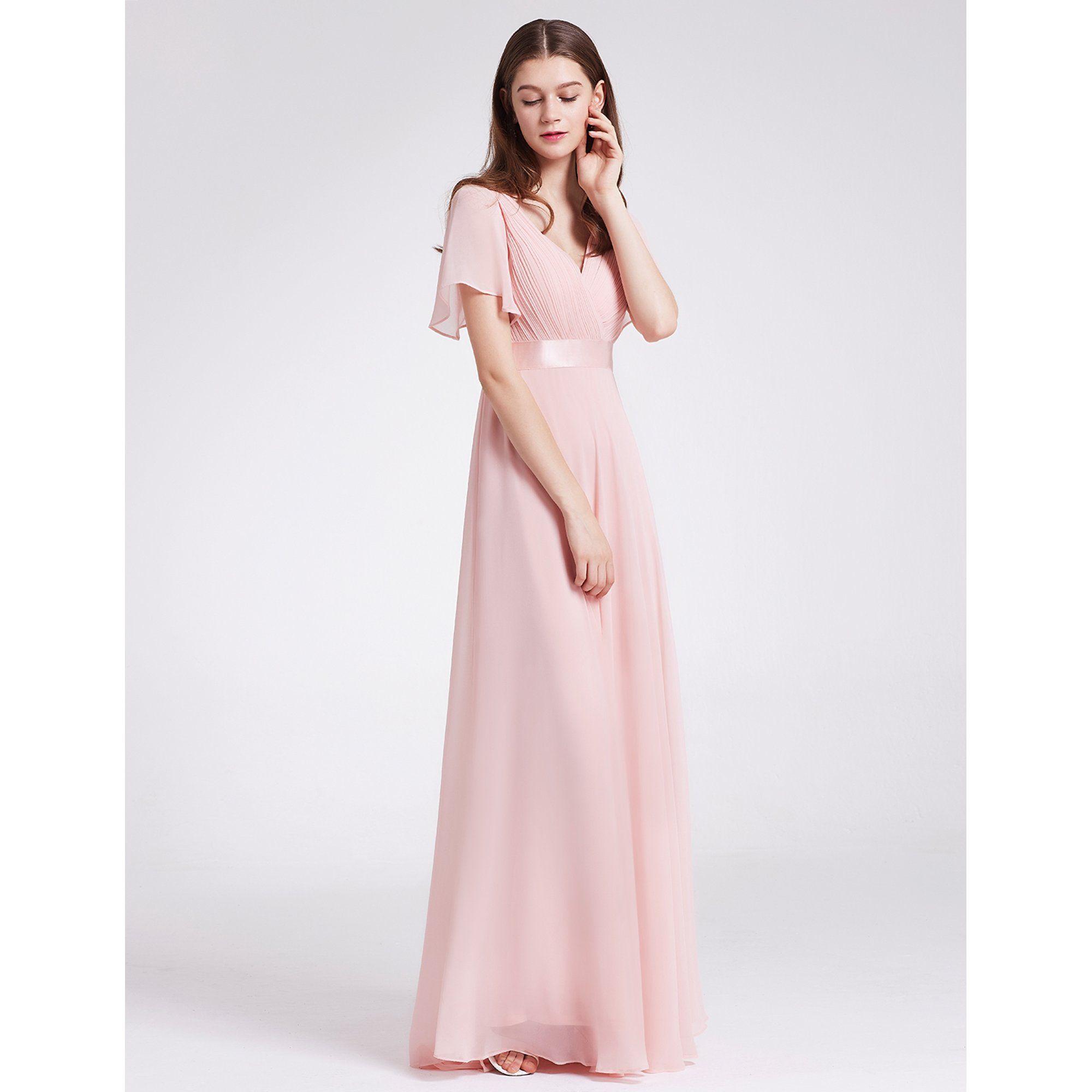Ever Pretty Ever Pretty Womens Chiffon Long Bridesmaid Dresses For Women 09890 Pink Us8 Walmart Com In 2021 Bridesmaid Dresses Long Chiffon Pink Wedding Guest Dresses Pink Long Dress [ 2000 x 2000 Pixel ]