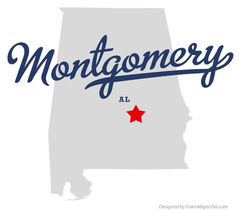 Or Montgomery Alabama City Map driving directions results from
