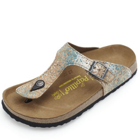 Birkenstock Papillio Gizeh Corkflower Sandal | Sandals, Cute