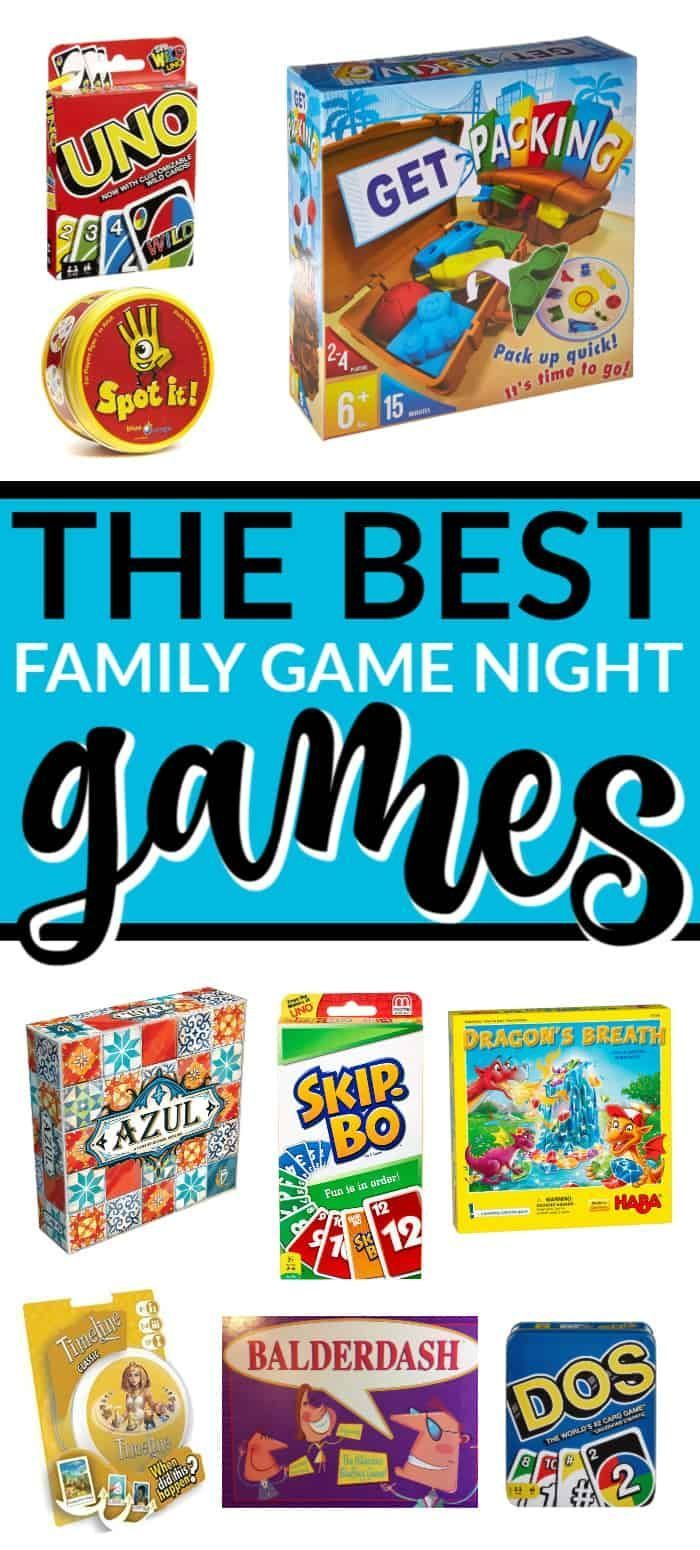 THE BEST FAMILY GAME NIGHT GAMES Family fun games