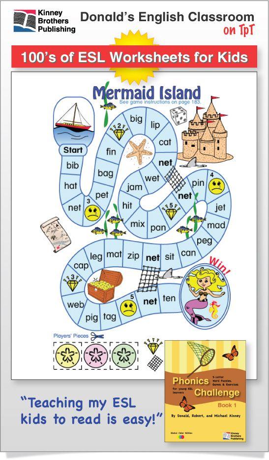 Phonics Challenge Book 1 Page Pack 3 | Phonics for kids, Phonics, Phonics activities