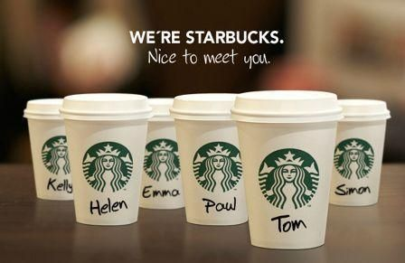 Image result for starbucks coffee cup name