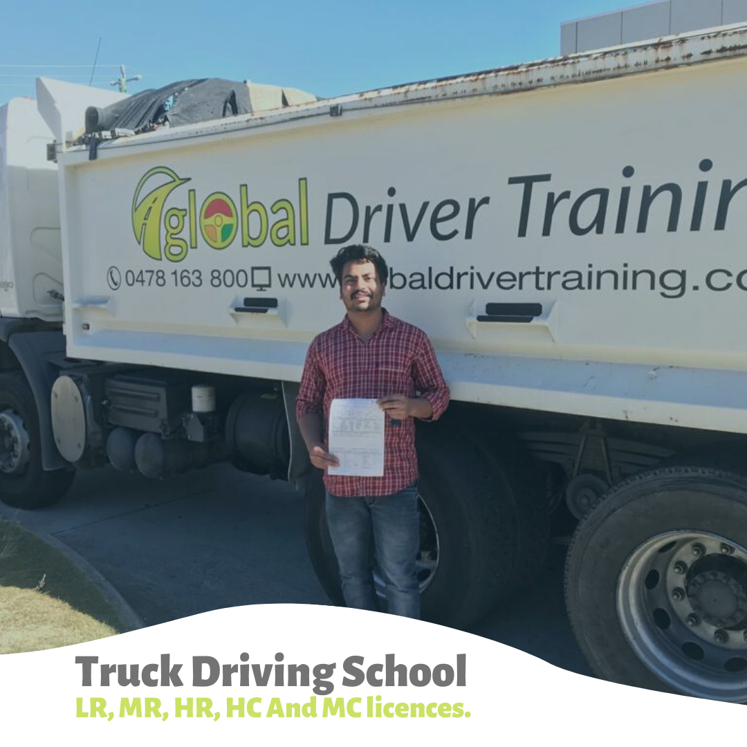 Global Driving Training is preparing new truck drivers to