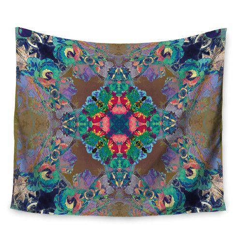 Found it at Wayfair - Flowery by Danii Pollehn Wall Tapestry