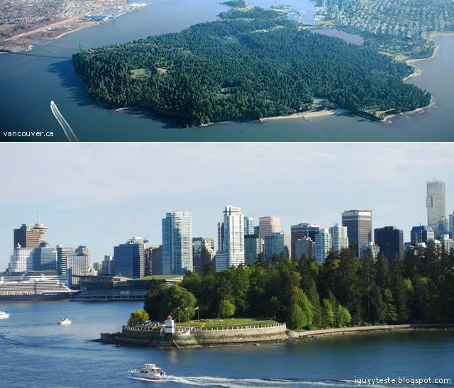 Stanley Park - the largest urban park in Vancouver, Canada // Stanley Park - o maior parque urbano de Vancouver, Canada. See more http://destinations-for-travelers.blogspot.com/2012/12/stanley-park-o-maior-parque-urbano-de.html