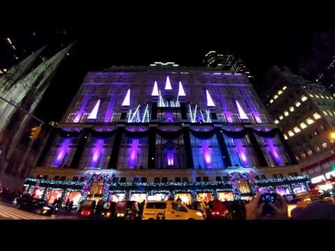 Saks Fifth Avenue - Christmas Light Show (2016-11-28) - Saks Fifth Avenue - Christmas Light Show (2016-11-28) Videos