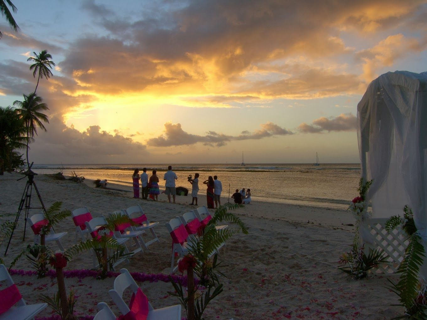 Beach weddings in the Caribbean. See more at http://sunset ...