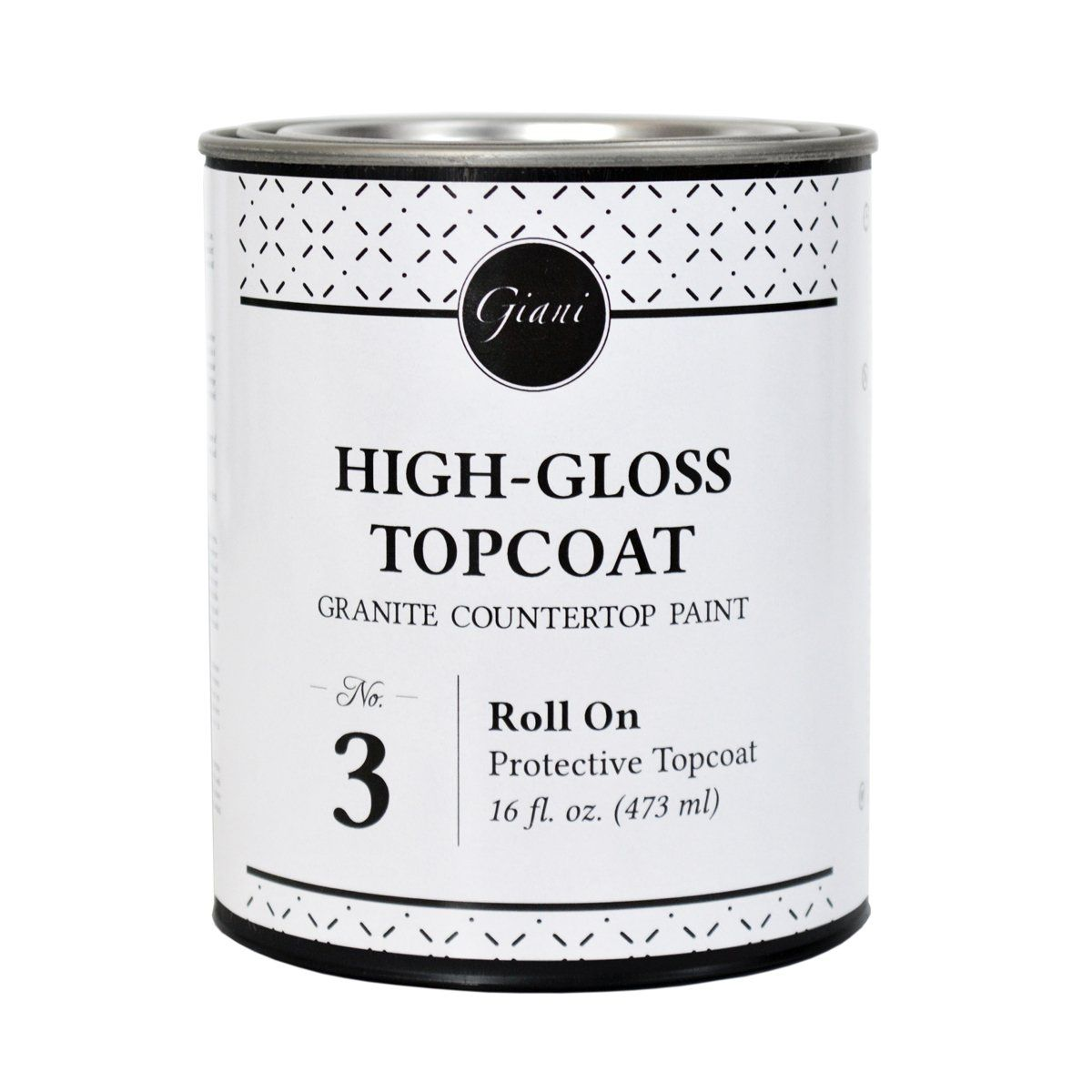 High Gloss Topcoat For Giani Countertop Paint Kits Step 3 Giani Countertop Paint Painting Countertops Countertop Paint Kit