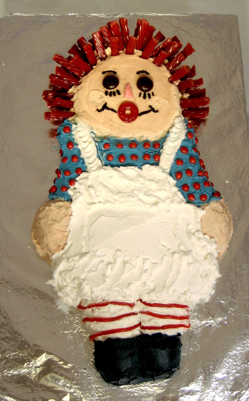 Image Detail For Birthday Cake Using Wilton Cake Pan For Raggedy