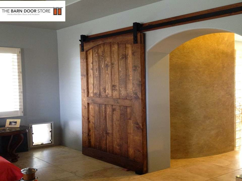 We Designed And Manufactured A Very Large Sliding Barn Door With The Same  Eyebrow Arched Detail