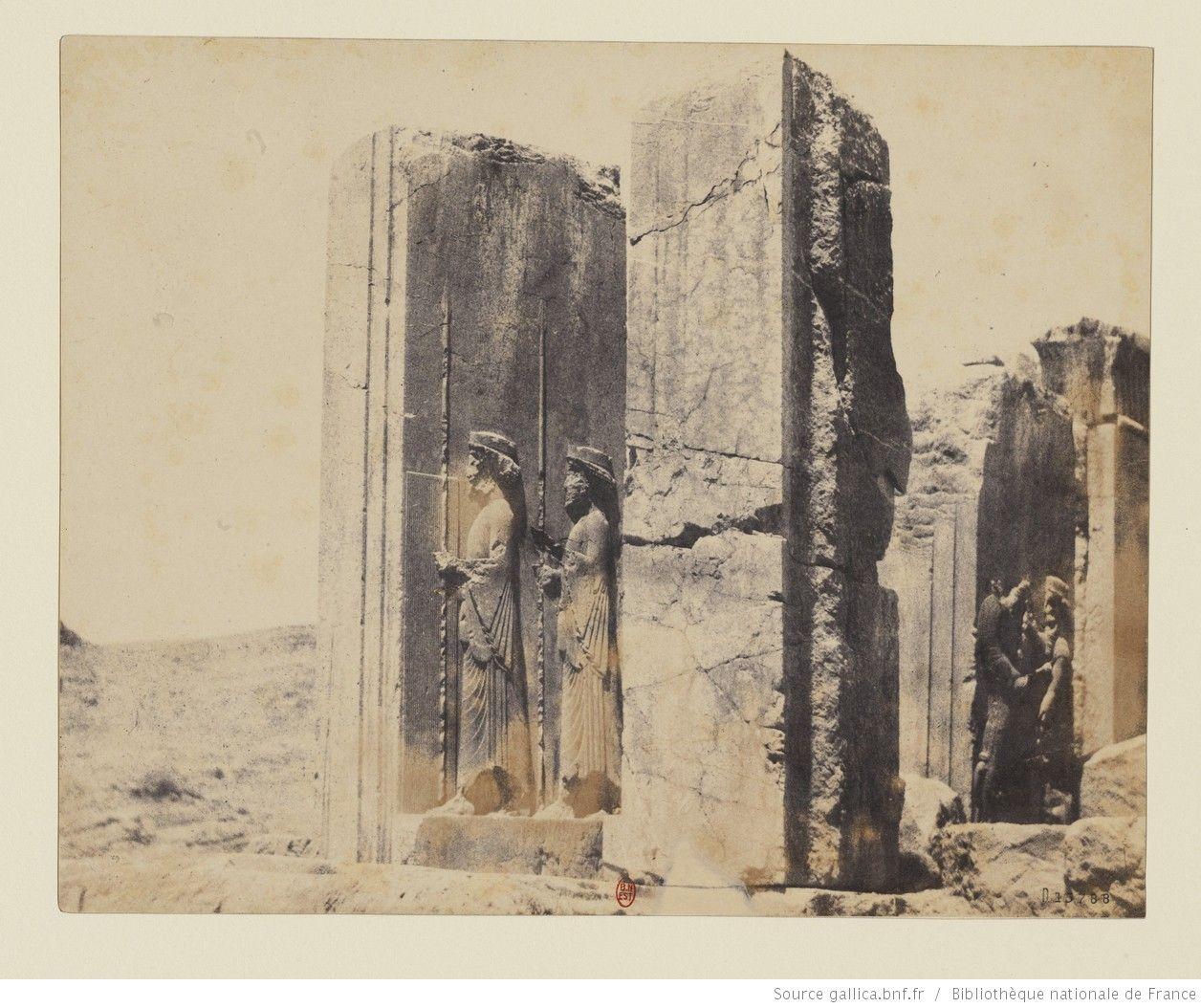 Vicere Antichi Persiani.Persepolis Relief De L Apadana Salle Aux Cent Colonnes