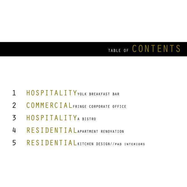 Interior Design Portfolio by Olivia Zabel, via Behance Design and