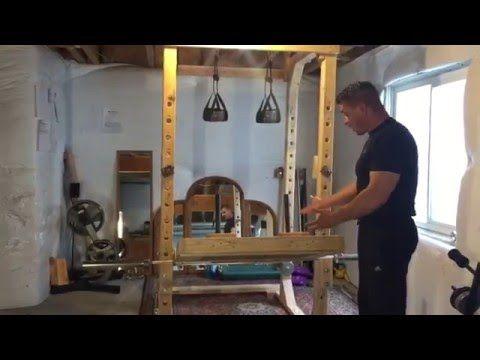 89013e280d6 DIY Leg Press for Power Rack - YouTube