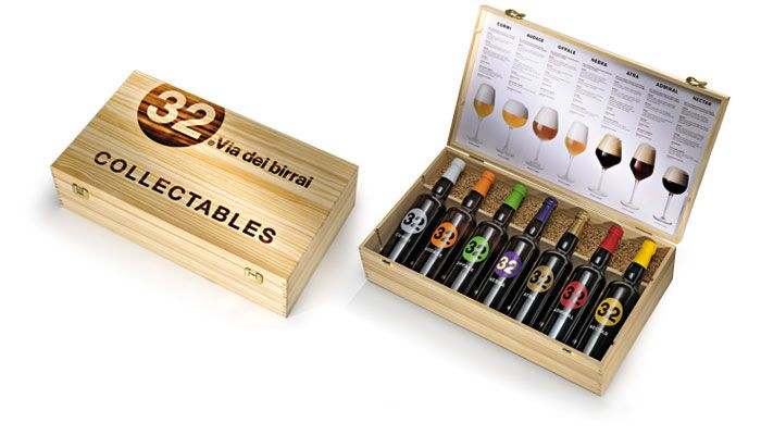 32 Via Dei Birrai Craft Beer Packaging Labels Vegan Beer