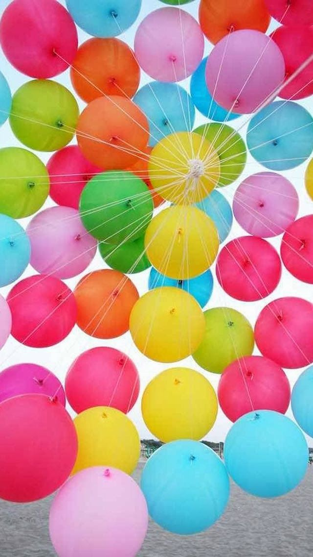Balloons Sky Vintage Effect IPhone 6 Plus HD Wallpaper 5