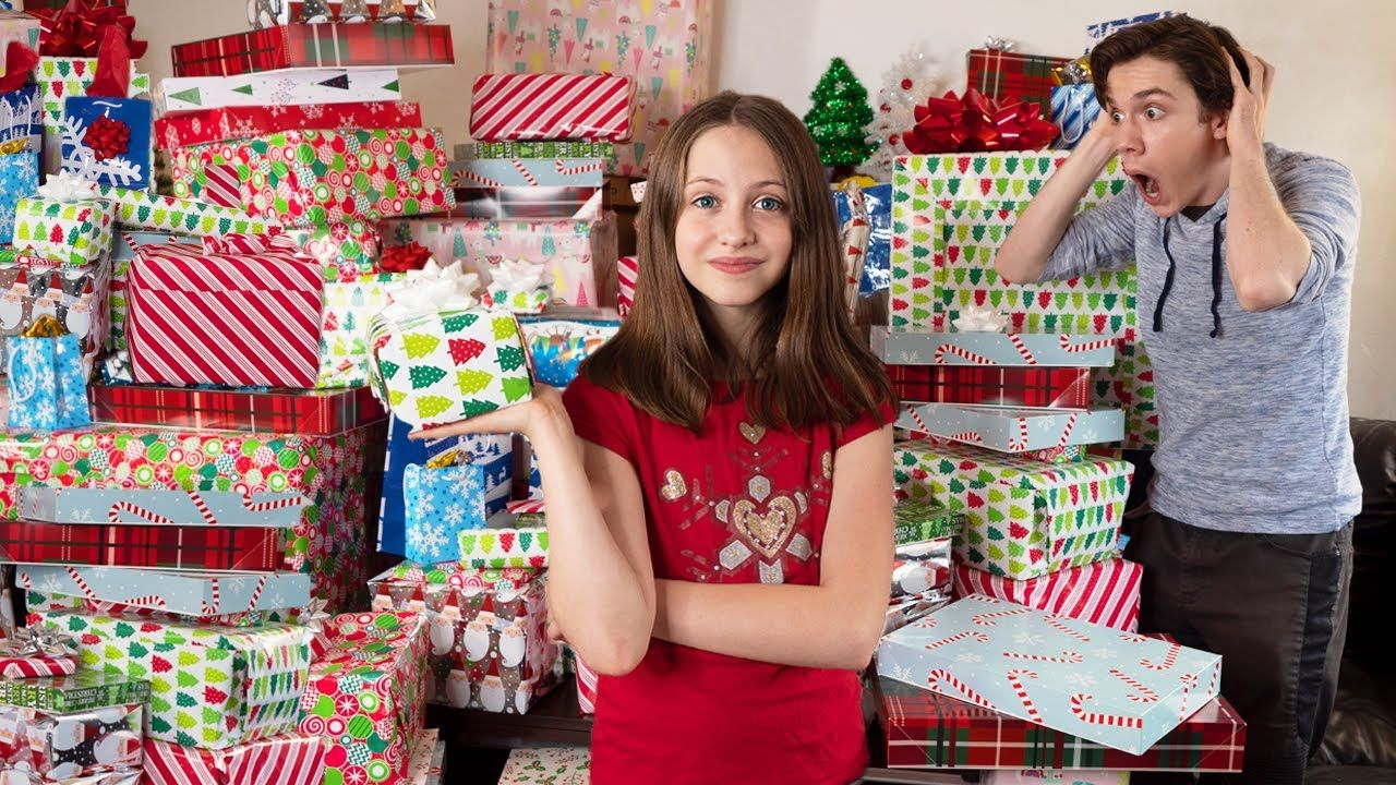 How To Get More Presents Than Your Sibling For Christmas Christmas 2019 Challenge Youtube In 2020 Christmas 2019 Christmas Fun Presents